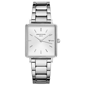 Rosefield the boxy Watch for Women Analog Quartz with Stainless Steel Bracelet QWSS-Q042