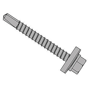 Forgefix TechFast tagplade til stål hex skrue & skive No.3 Tip 5.5x75mm x100