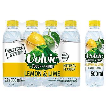 Volvic Citron & Lime 12 x 500ml