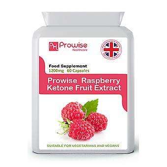 Raspberry Ketones Super Strength 60 Capsules | Suitable For Vegetarians & Vegans | Made In UK