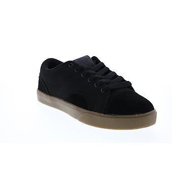 Osiris Turin  Mens Black Canvas Skate Sneakers Shoes