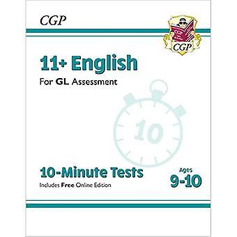 Nye 11+ GL 10-minutters test: Engelsk - Alder 9-10 (med Online Edition)