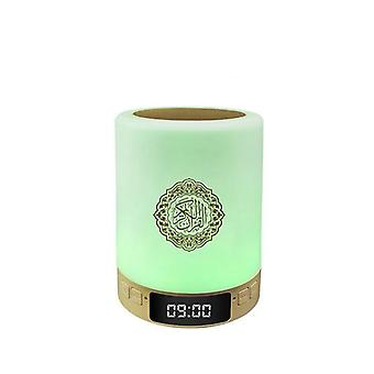 Latest Islamic Quran Speaker With Night Light Touch Lamp And Display Clock