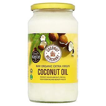 Kokosový obchodní organický kokosový olej 1l | extra panenský, surový, lisovaný za studena, nerafinovaný | eticky sou