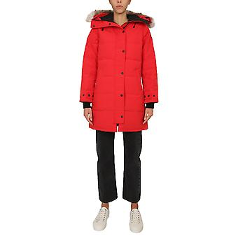 Canada Goose 3802l11 Women's Red Polyester Outerwear Jacket