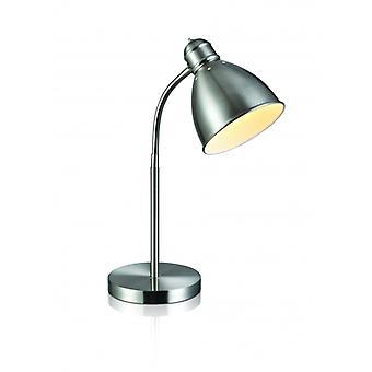 1-lichte Nitta Stalen Tafellamp