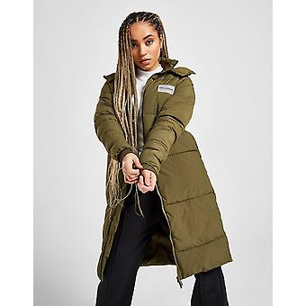 New Supply & Demand Women's Maddox Longline Padded Jacket from JD Outlet Green