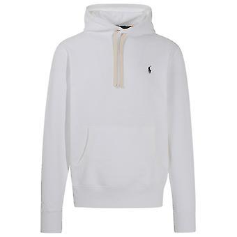 Ralph Lauren 710766778009 Mænd's Hvid Bomuld Sweatshirt
