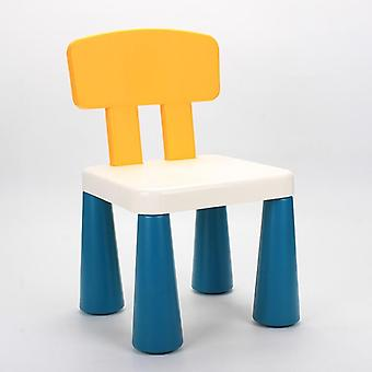 Children's Stools Kindergarten Backrest Baby Dining Chairs Plastic Home Cartoon