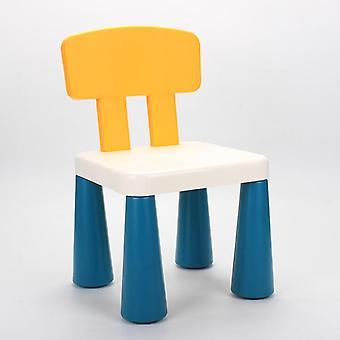 Sgabelli per bambini Asilo Schienali Baby Dining Chairs Plastic Home Cartoon