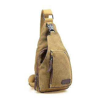 Yk40-999- Fashion Shoulder, Canvas Messenger & Casual Travel Military Bag