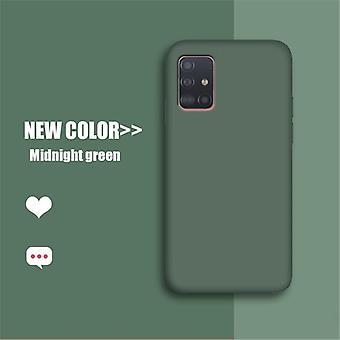 Samsung Galaxy M51 sag, Galaxy A12 5g Flydende gummi silikone cover