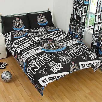 Set de edredón de parches Newcastle United FC