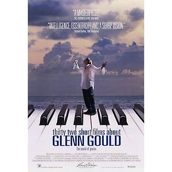 32 short Films about Glenn Gould-Film-Plakat-Druck (27 x 40)