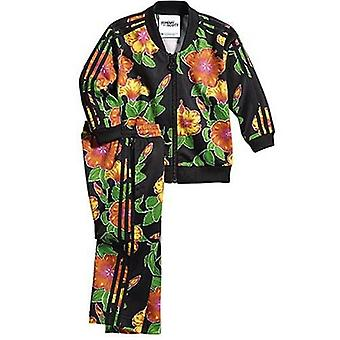 Adidas Jeremy Scott 2 Piece Flower Multicoloured Kids Tracksuit F50872 A78D