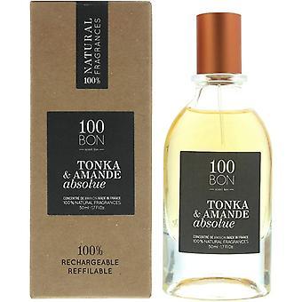 100BON Tonka & Amande Absolue Refillable Eau de Parfum Concentrate 50ml Spray