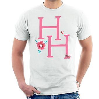 Holly Hobbie Initialen mit einer Blume Männer's T-Shirt