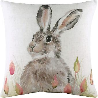 Evans Lichfield Hedgerow Hare Cushion Cover