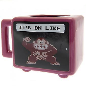 Donkey Kong Retro Heat Changing Mug