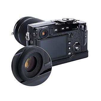 Jjc puha szilikon gumi szemlencse szemkagyló fujifilm x-pro2 kamera (2db / csomag) illik fuji x-p