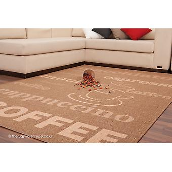 Alfombra marrón café
