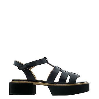 Paloma Barceló Ivainapasoftblack Women's Black Leather Sandals