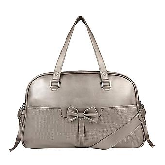 Mayoral bronze metallic changing bag 19042