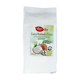 Organic Grated Coconut 200 g