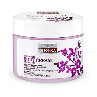 Violet Rose Body Cream 300 ml of cream