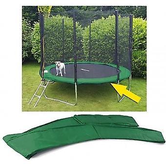 Pokrowiec na trampolinę - średnica 244 cm - zielony
