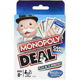 Official Monopoly Deal Game Family Card Games Party Fun Lockdown Quarantine Isolation