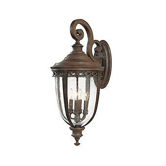 Lámpara De Pared De Brida Inglesa, Bronce, Muy Grande