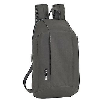 Casual backpack safta grey
