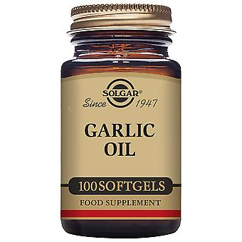 Solgar Garlic Oil Perles 100 Softgels