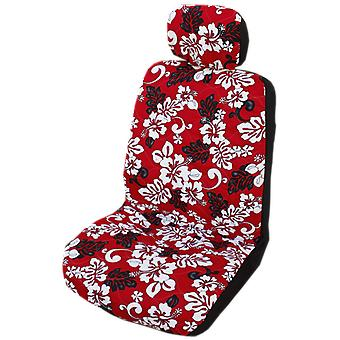 Side Airbag Optional; Monstera Shadow Separate Headrests Hawaiian Car Seat Covers
