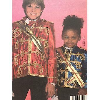McCalls Naaipatroon 9343 Kinderen Vintage Michael Jackson Jas Maat 12