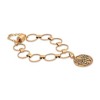 Alex and Ani Path of Life Magnetic Charm Bracelet Rafaelian Gold - Gold Finish - V18MB20RG