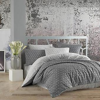 Cotton Touch Ranforce Puzzle, Double Personality Bedlinen Covers, Home Textile