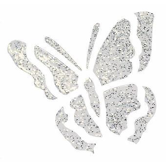 Creativ Paper Pen 25ml Glitter Silver Transparent