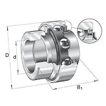 INA E25XLKRRB Radial Insert Ball Bearing