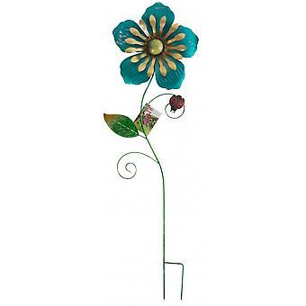 puutarharispenkukka 28x3x89 cm sinisellä