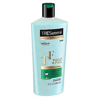 Tresemme pro collection shampooing, épais et plein, 22 oz
