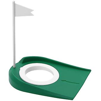 FengChun Golf Putting Cup, Golf bungs Putting Cup Golfregulierungs Cup mit Flagge fr Innenauenbro