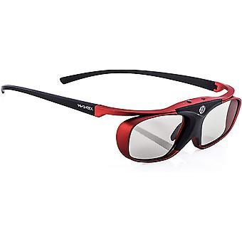 FengChun BT Pro Scarlet Heaven aktive 3D Brille für 3D TV von Sony, Samsung, Panasonic   komp. mit