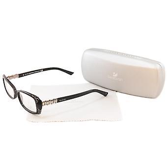 Swarovski Eyeglasses Frame Bourgeois SW5055 Black Plastic Italy Made 54-15-140
