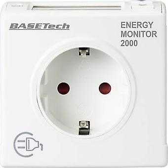 Medidor de consumo de energia Basetech EM 2000