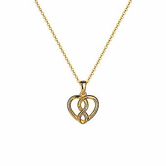 Forever - Infinite Love Icons Necklace - 40cm +3cm extender - Gold - Jewellery Gifts for Women from Lu Bella