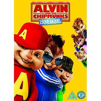 Alvin & Wiewiórki Piszczy DVD