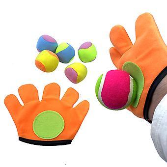 Deti Sucker Sticky Ball Hračka Outdoor Sports Catch Ball Game Set Hodiť a chytiť rodič-dieťa interaktívne vonkajšie hračky