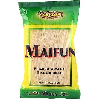 Golden Star Noodle Rice Maifun, Case of 8 X 6 Oz